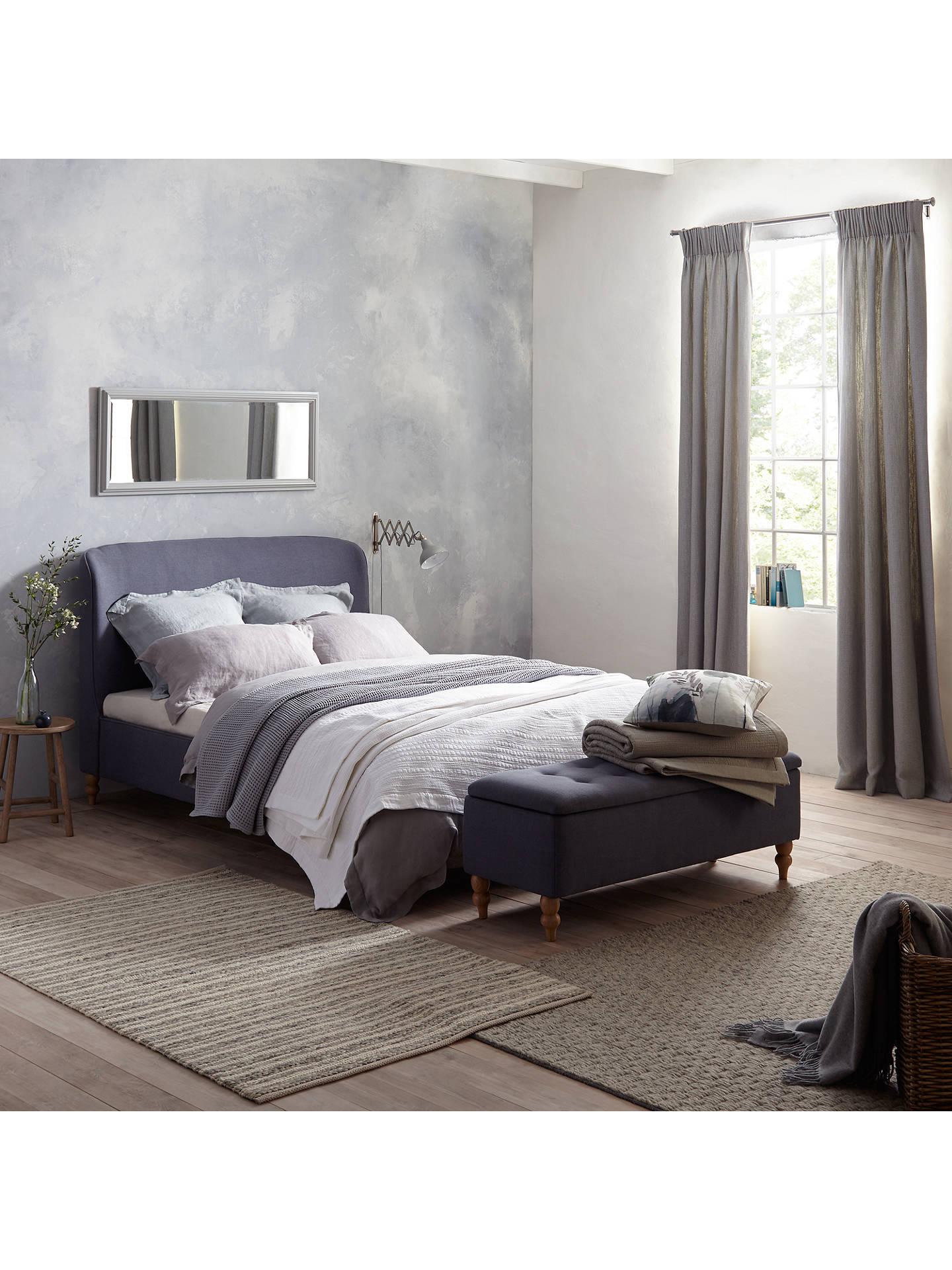... Buy Croft Collection Skye Bed Frame, Super King Size, Loch Blue Online  at johnlewis ...