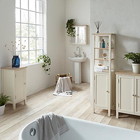 John Lewis Croft Bathroom Furniture Range Online At Johnlewis
