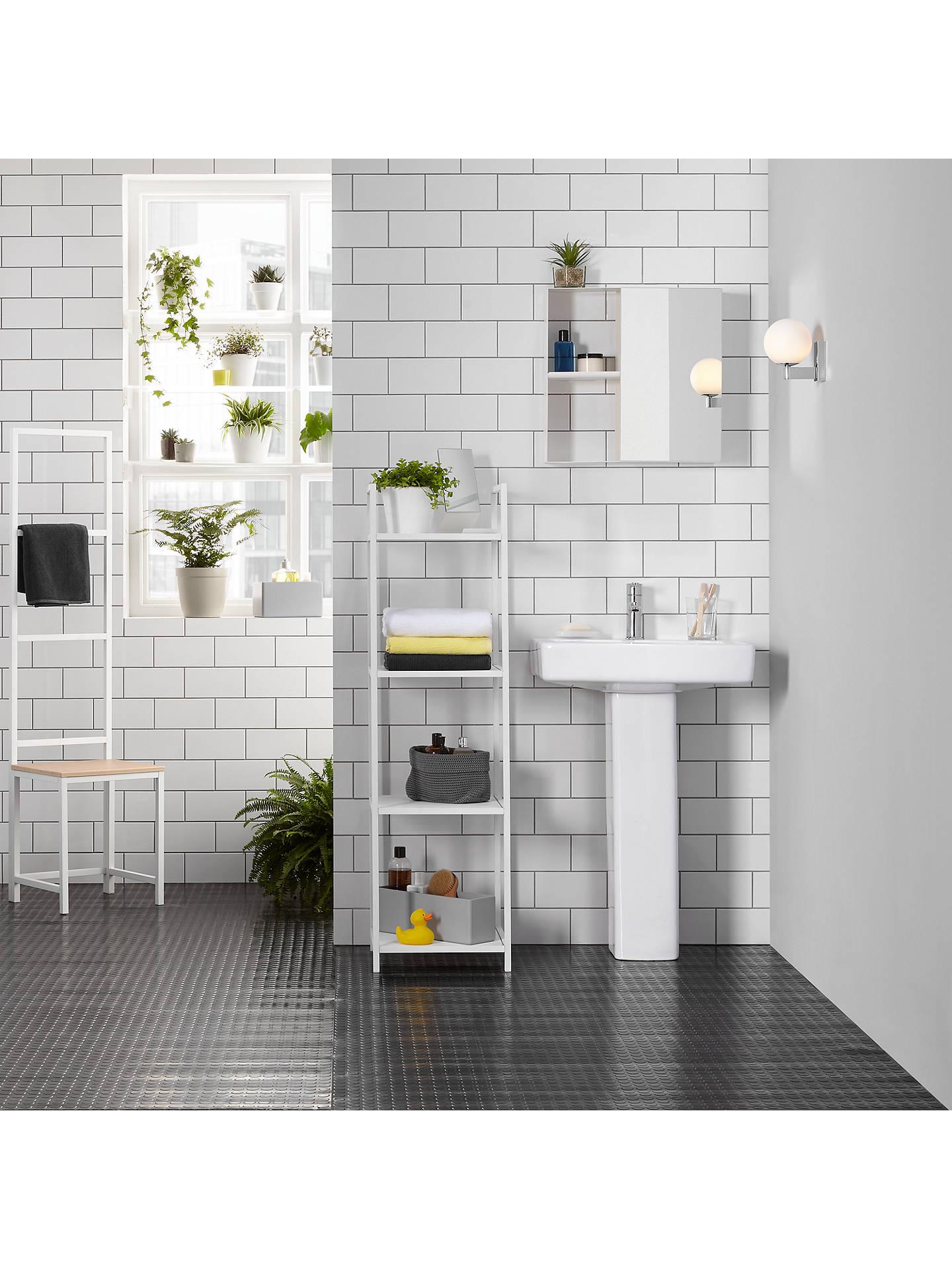 Surprising House By John Lewis Bathroom Storage Box Blue Grey Download Free Architecture Designs Griteanizatbritishbridgeorg