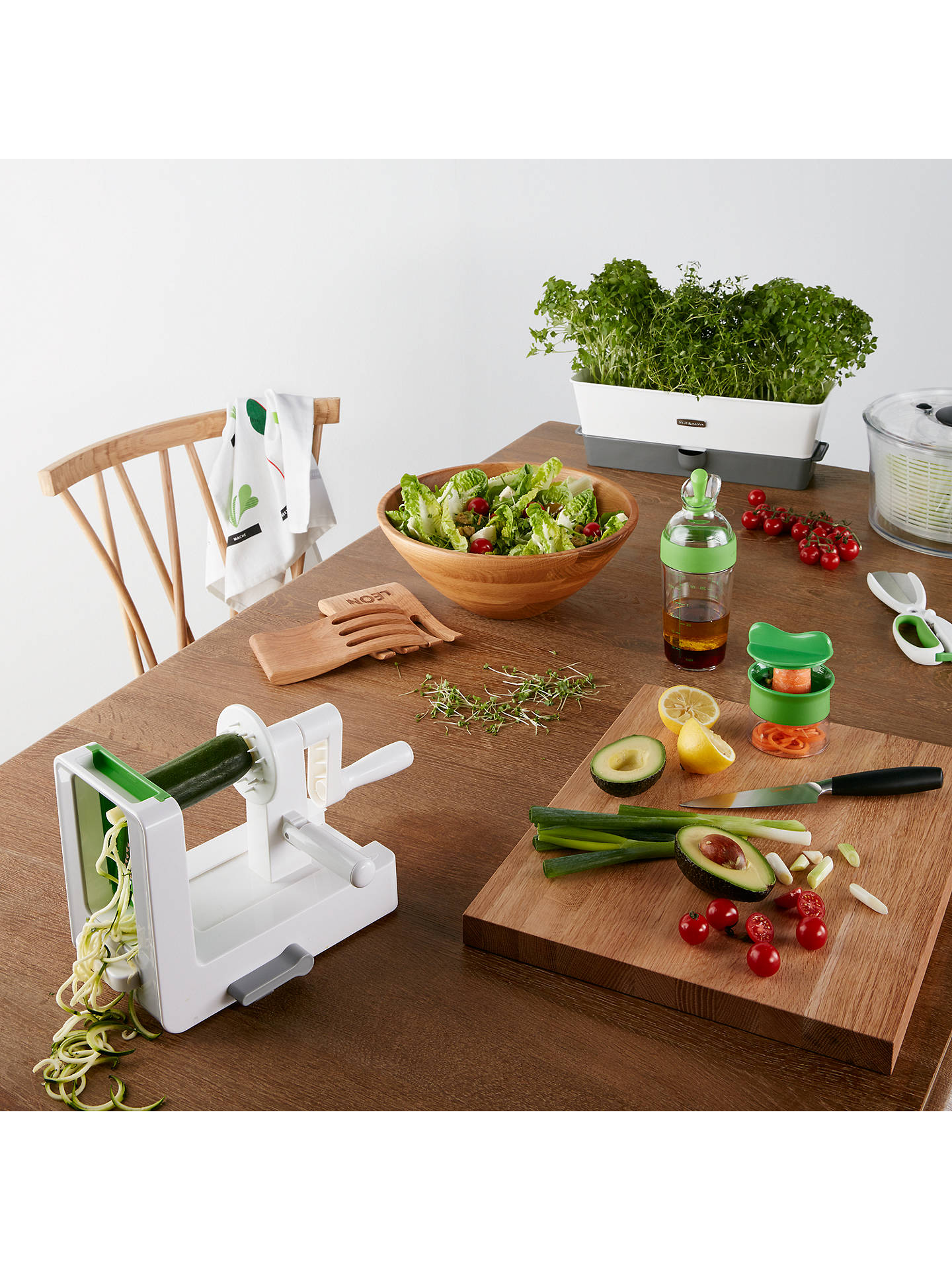 Buy OXO Good Grips Hand Held Spiralizer Online at johnlewis.com