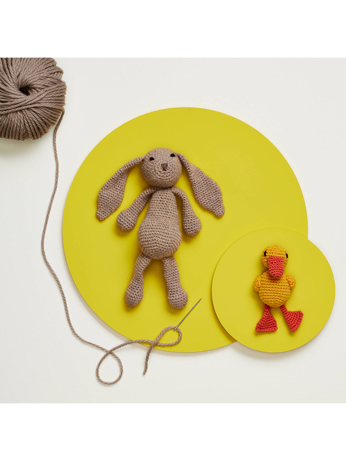 Toft Emma The Bunny Crochet Kit At John Lewis Partners