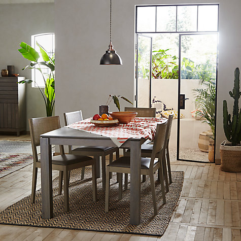Buy John Lewis Asha Wooden 6 8 Seater Dining Table Online At Johnlewis