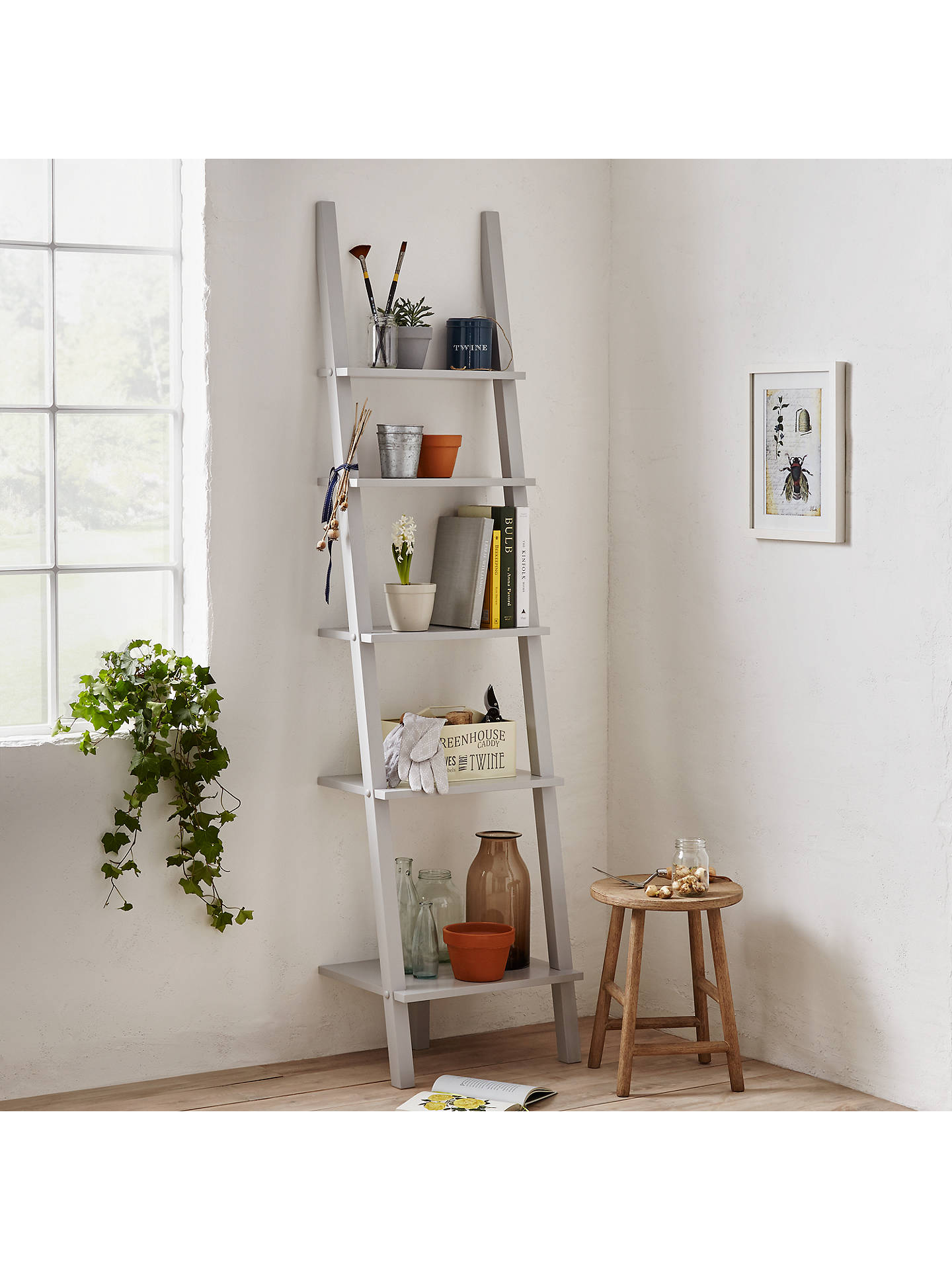 BuyJohn Lewis Partners Colosseum Bookcase FSC Certified Grey Online At Johnlewis