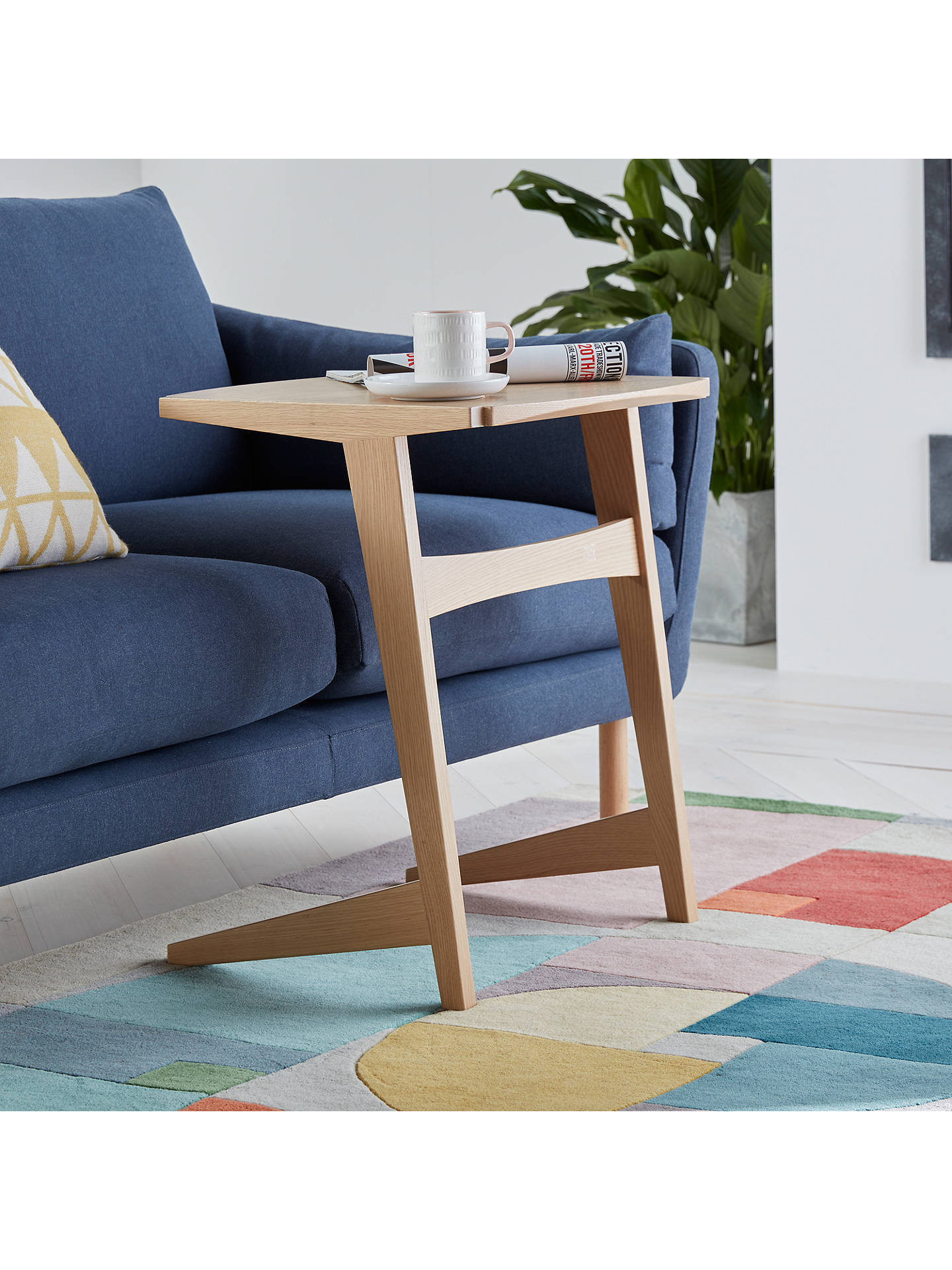 Wondrous John Lewis Partners Duhrer Sofa Side Table Ibusinesslaw Wood Chair Design Ideas Ibusinesslaworg