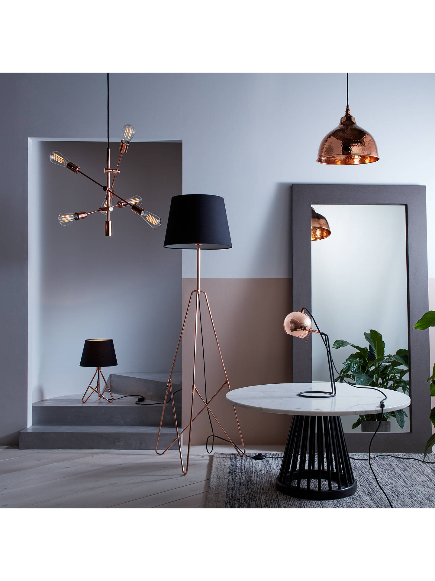 John Lewis & Partners Albus Twisted Table Lamp At John Lewis & Partners