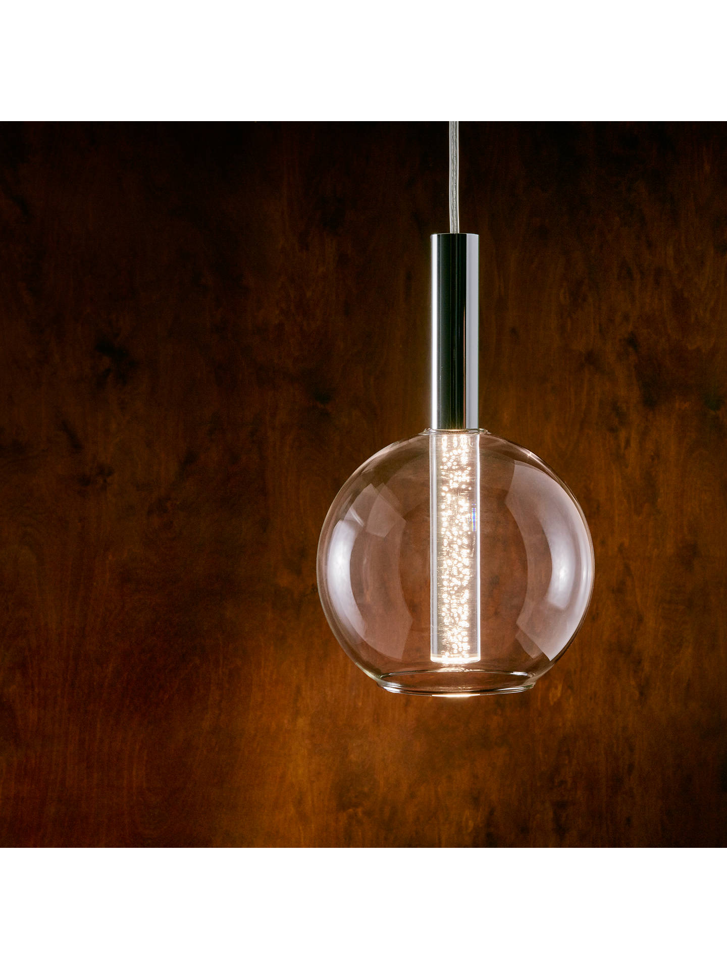 BuyJohn Lewis & Partners Orson LED Bubble Single Ceiling Light Online at johnlewis.com