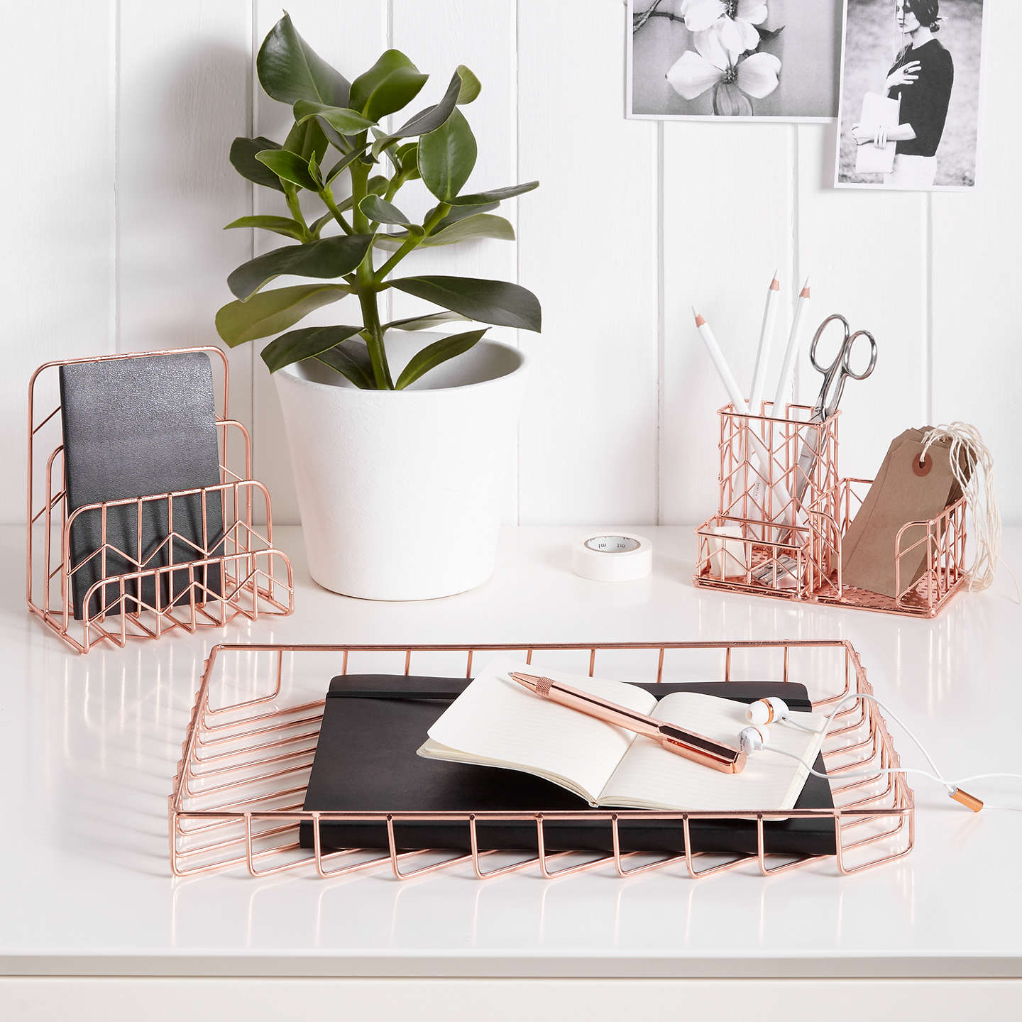 John Lewis Rose Gold Tablet Holder At John Lewis
