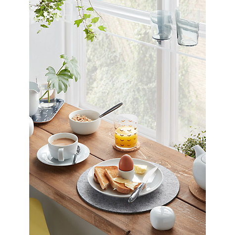Buy House by John Lewis Eat 14.5cm Cereal Bowl, White Online at johnlewis.com