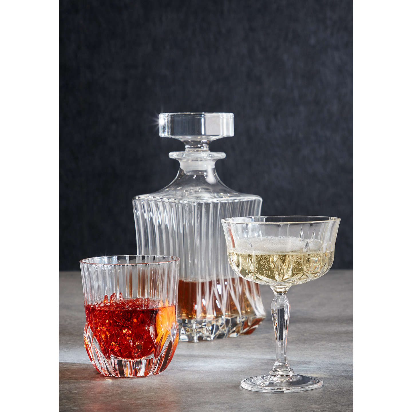 BuyJohn Lewis Paloma Crystal Glass Cocktail Coupe Online at johnlewis.com