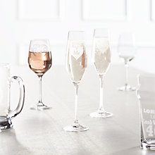 Buy John Lewis Something Special Engraved Glassware  Online at johnlewis.com