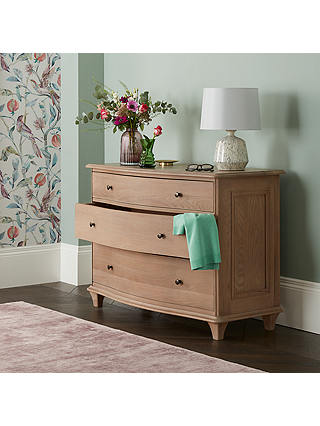 Buy John Lewis & Partners Etienne 3 Drawer Chest, Oak Online at johnlewis.com