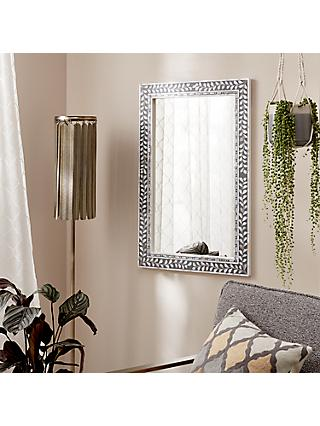 John Lewis & Partners Mother Of Pearl Mirrors