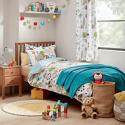 little home at John Lewis Wildside Duvet Cover and Pillowcase Set, Single