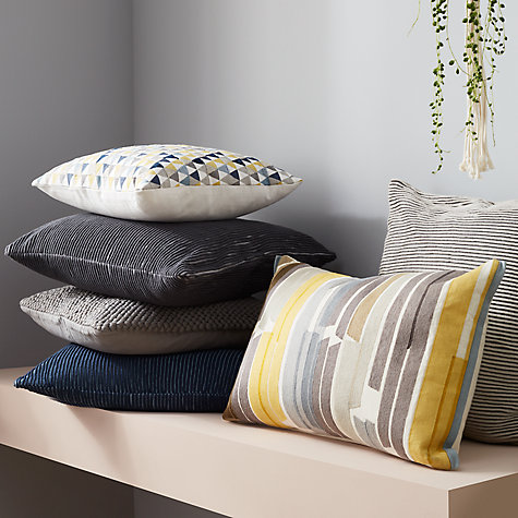 Buy John Lewis & Partners Rib Knit Cushion Online at johnlewis.com