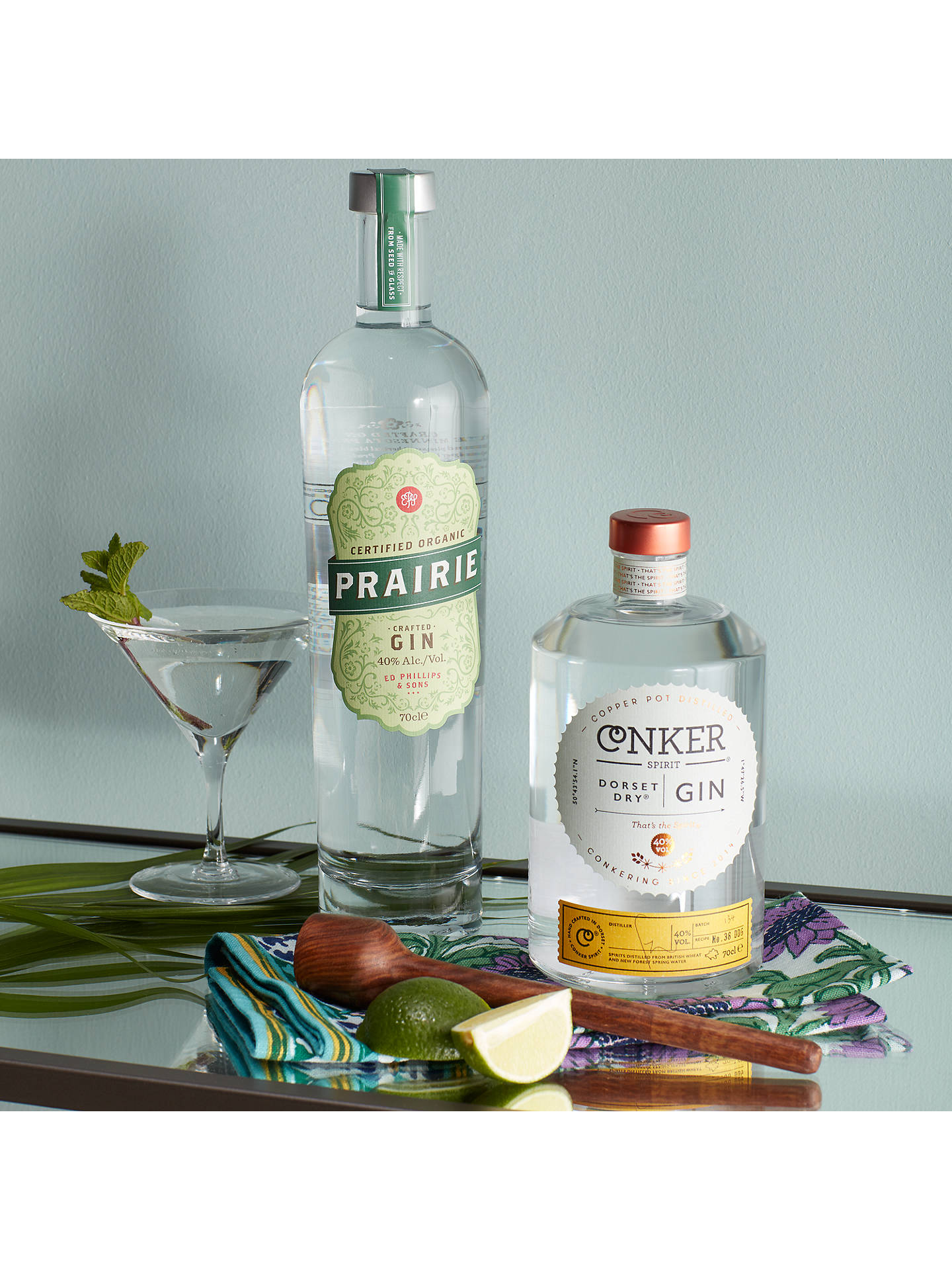 Buy Prairie Organic Gin, 70cl Online at johnlewis.com