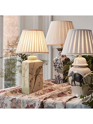 India Jane Parrot Ceramic Lamp Base, Table Lamps India Jane