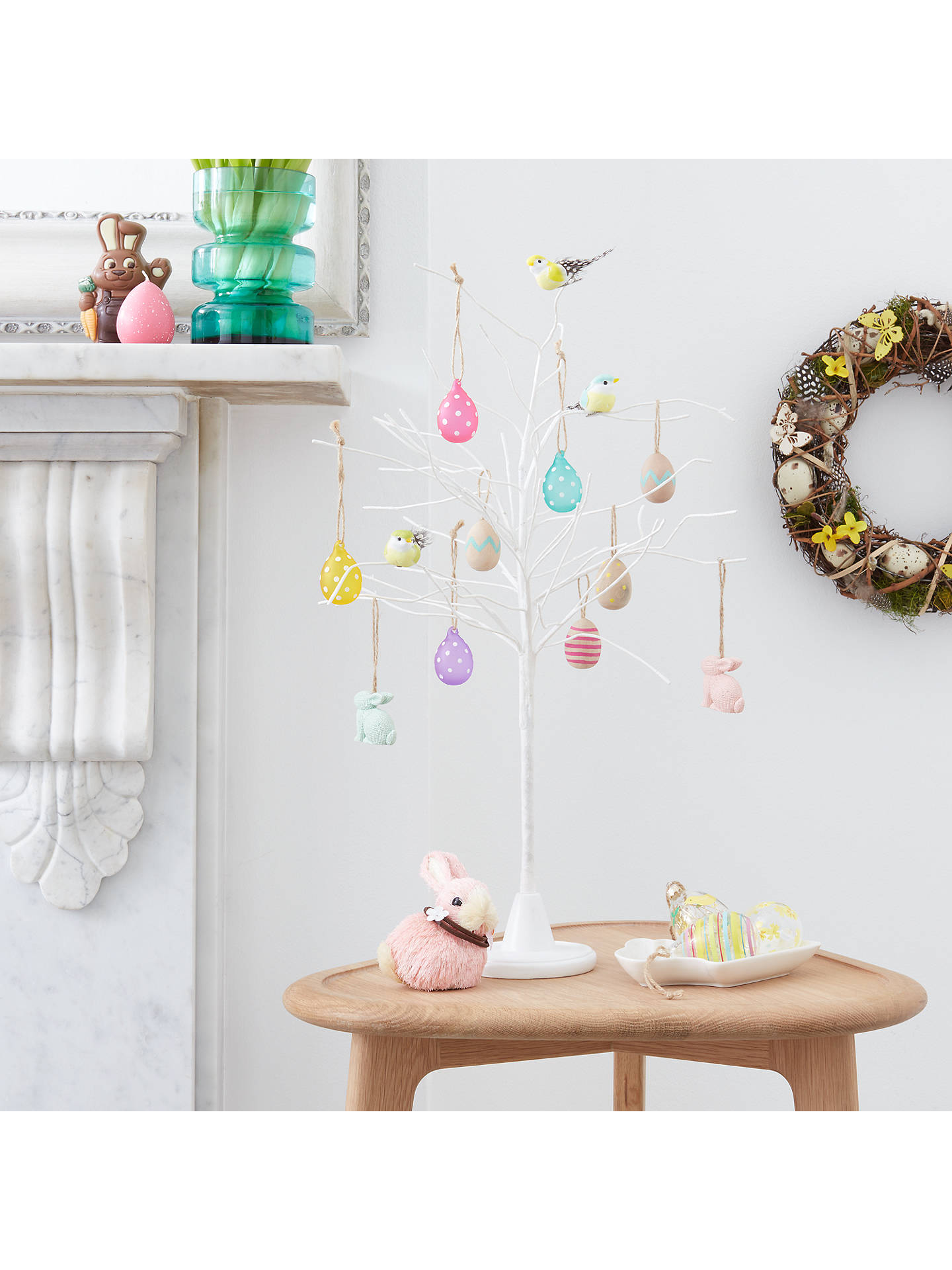 BuyJohn Lewis Easter Eggs Hanging Decorations, Pack of 6 Online at johnlewis.com