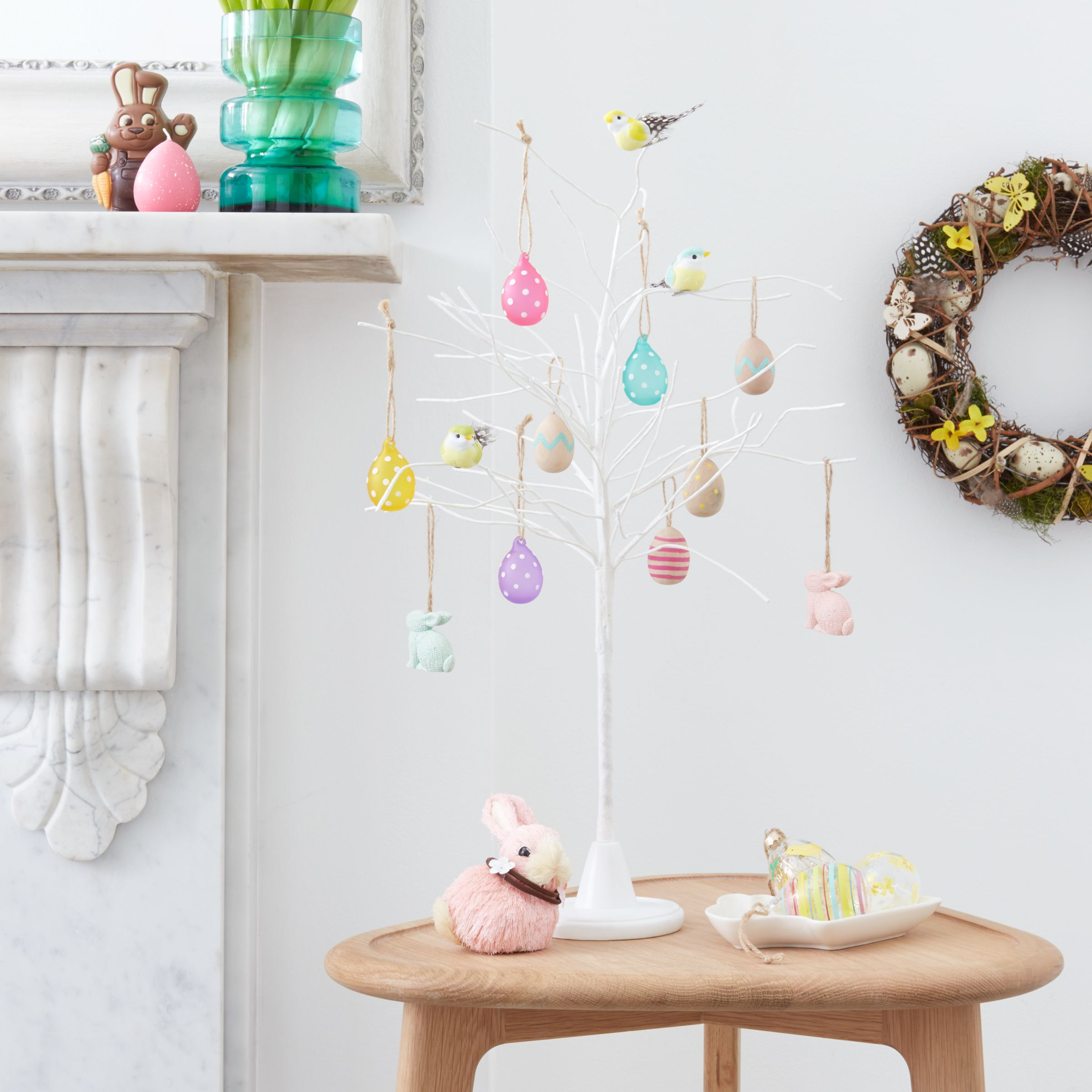 John Lewis Partners Easter Eggs Hanging Decorations Pack Of 6