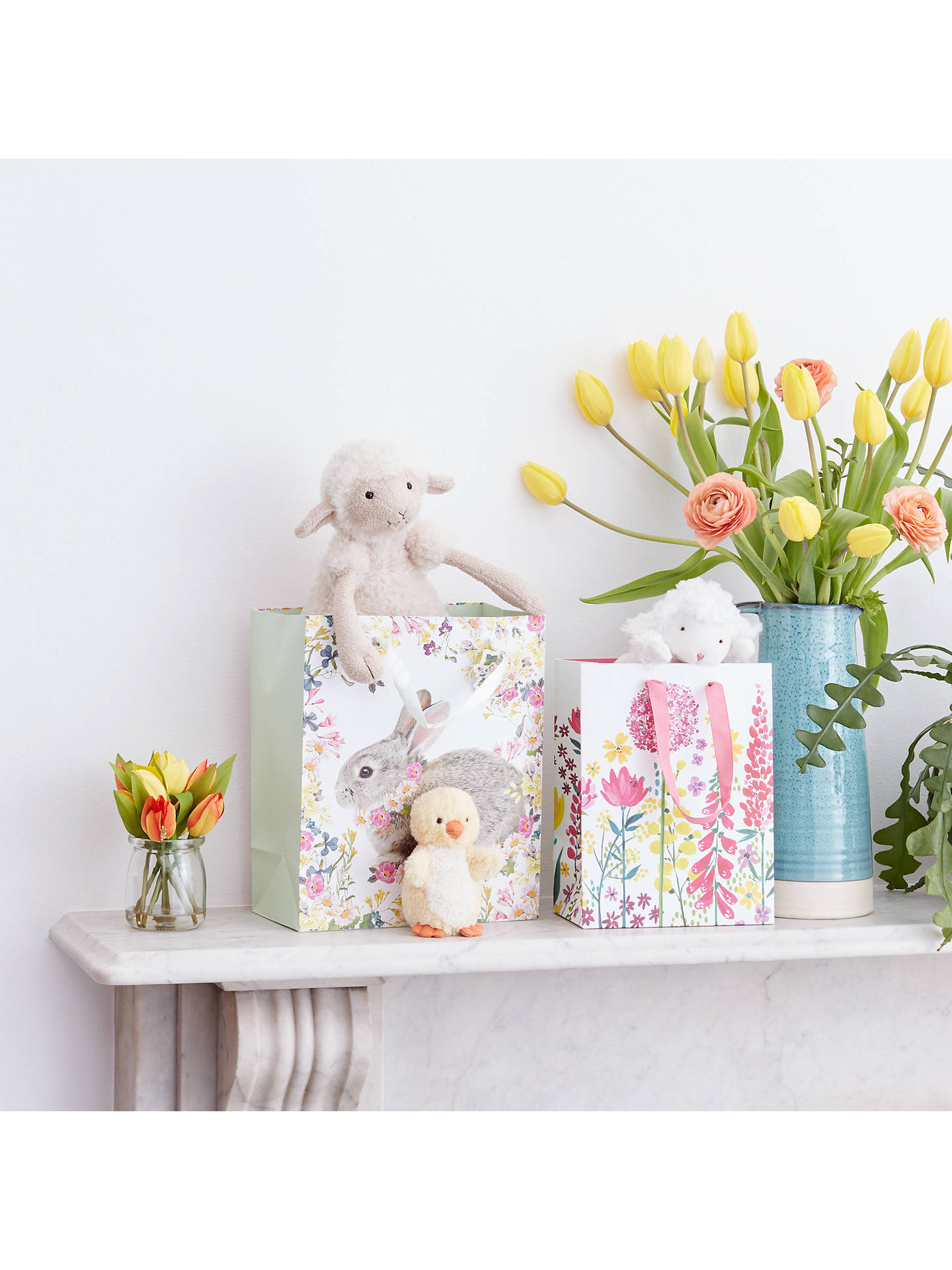 BuyTalking Tables Truly Bunny Gift Bag, Small Online at johnlewis.com