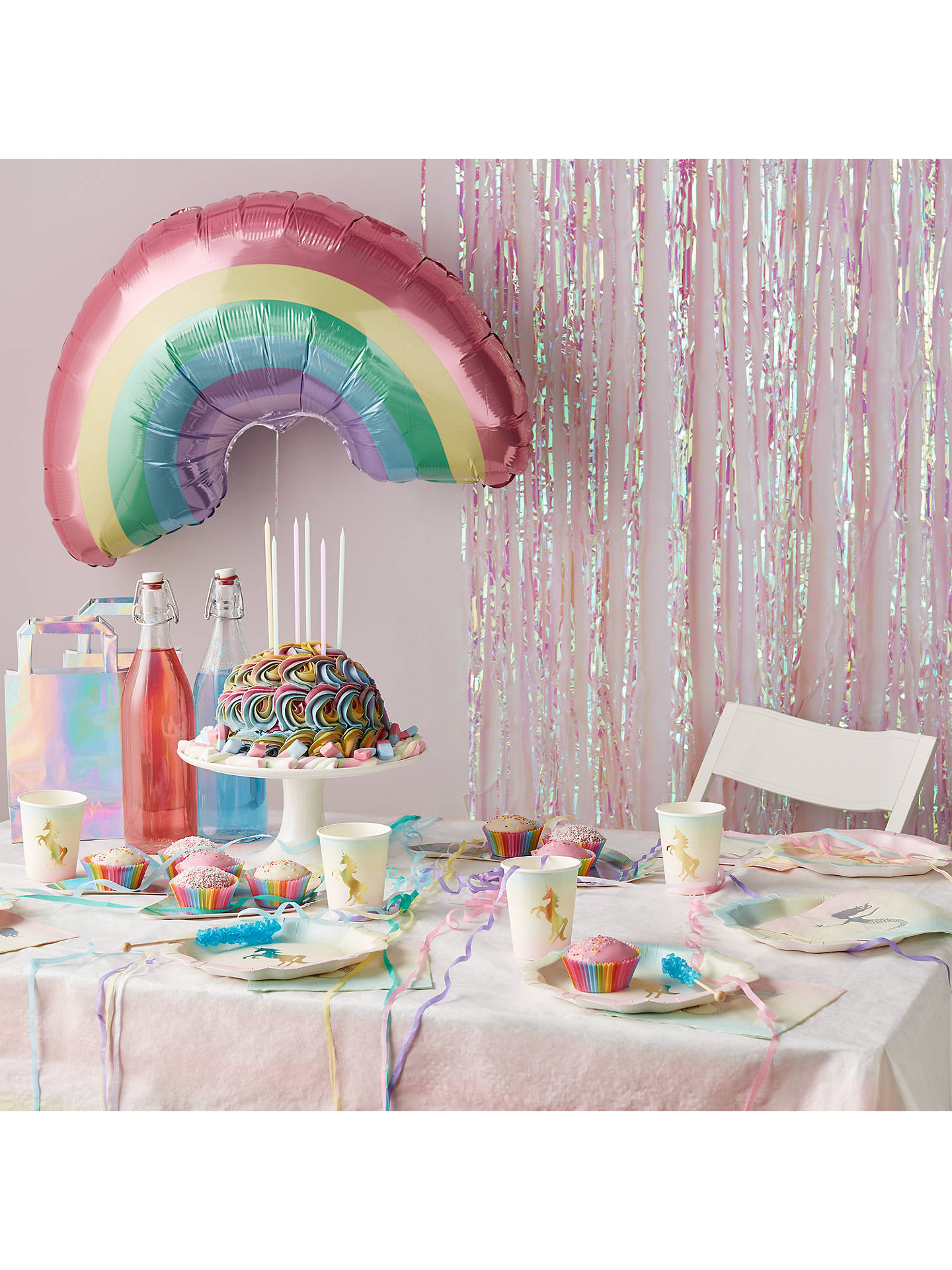 Buy Talking Tables Unicorn Paper Plates, Pack of 12 Online at johnlewis.com