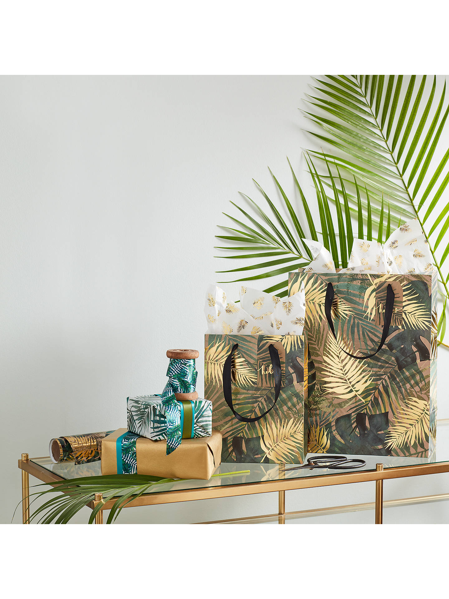 Buy John Lewis & Partners Foiled Gold Leaf Tissue Paper, 3 Sheets Online at johnlewis.com