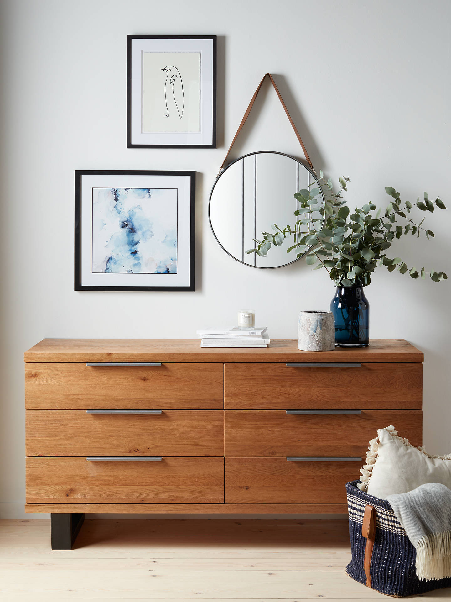 Buy John Lewis & Partners Calia Small Sideboard, Oak Online at johnlewis.com