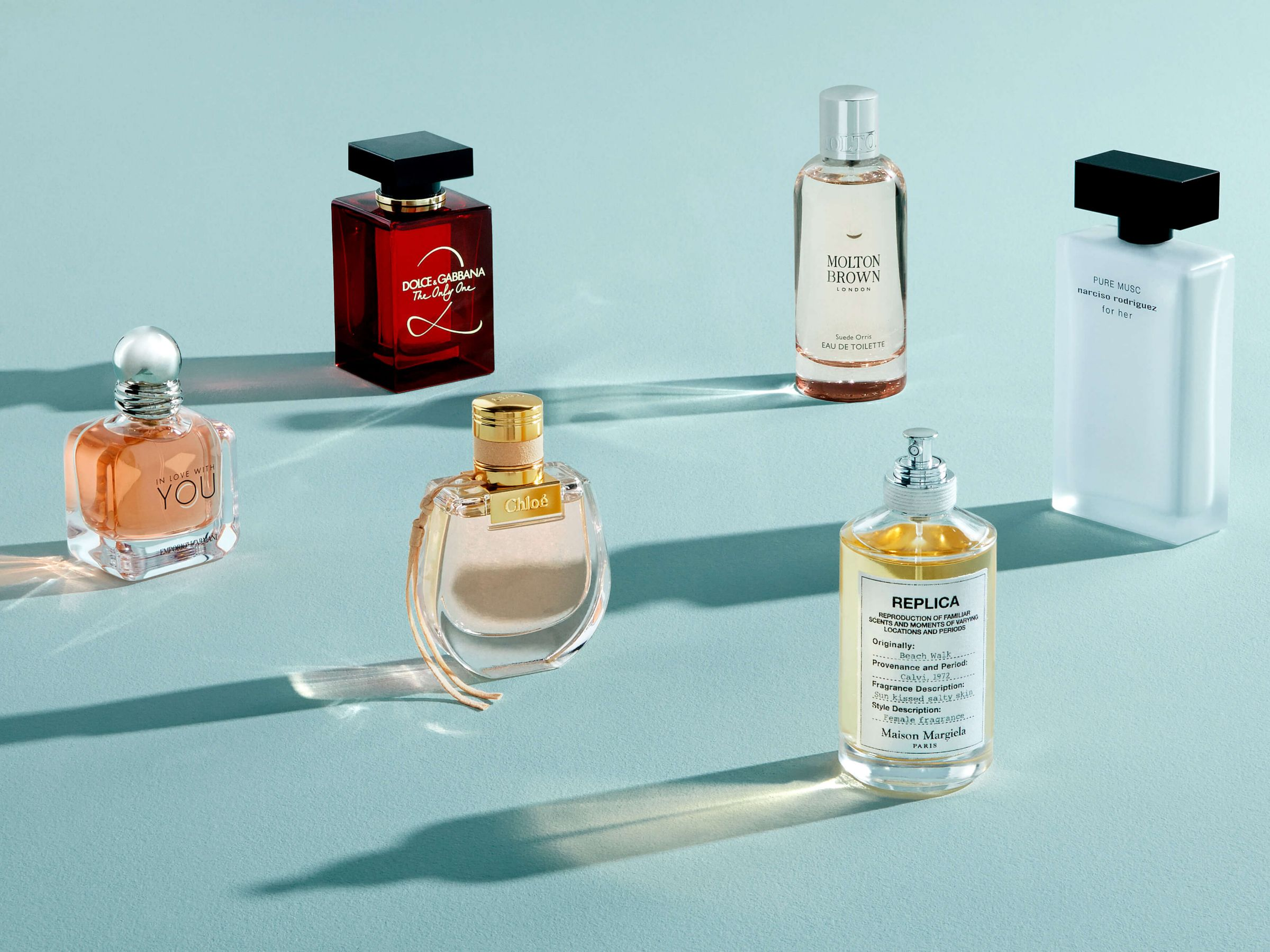 Top six scents for spring