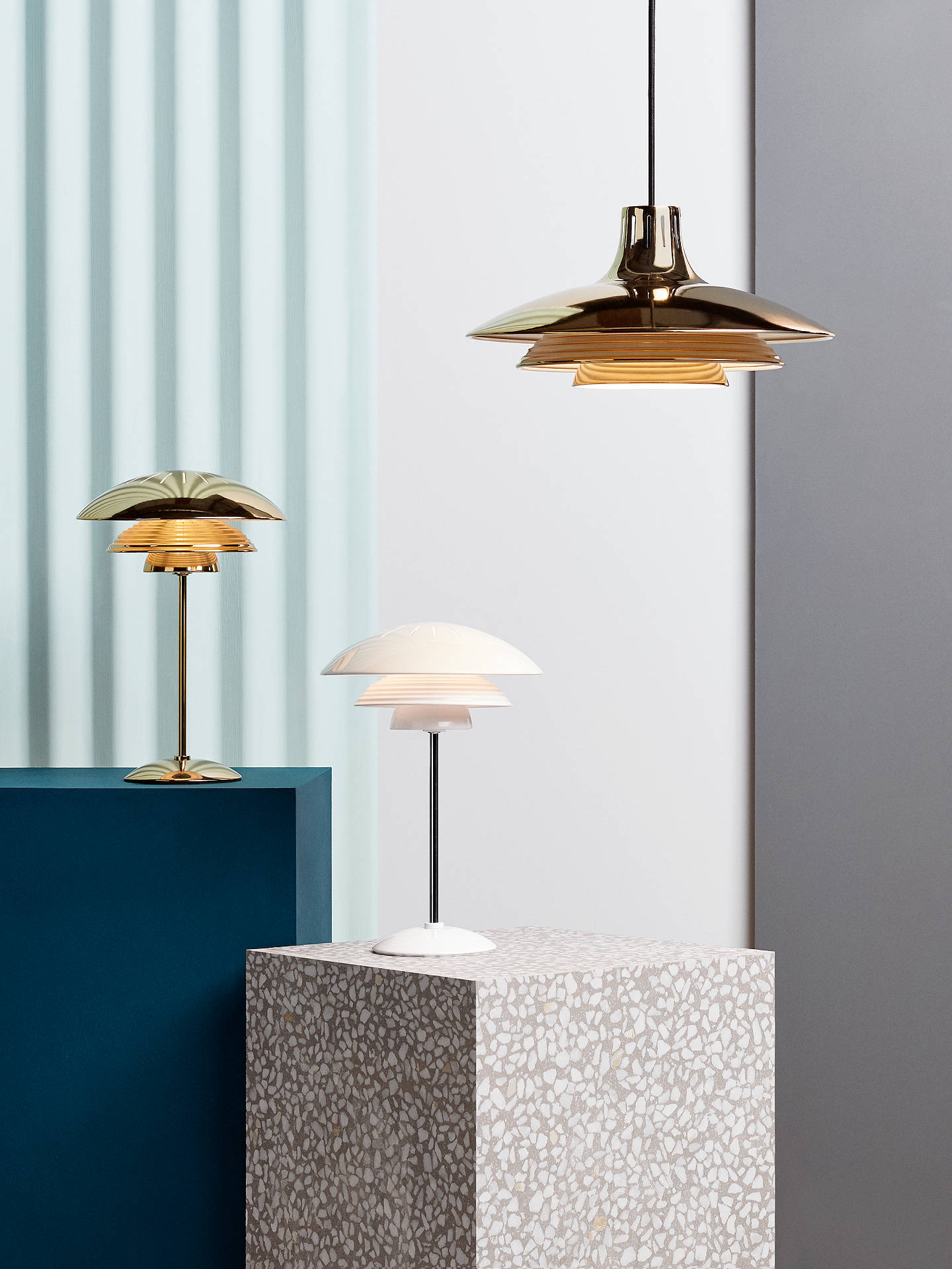 Buy House by John Lewis Stockholm Table Lamp, White Online at johnlewis.com