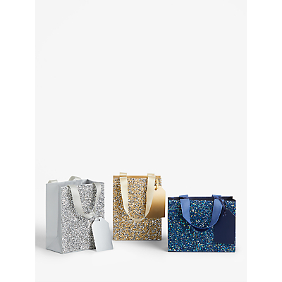 Image of John Lewis & Partners Diamante Gift Bag