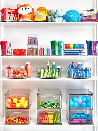 The Home Edit & iDesign Toy & Craft Storage Solution