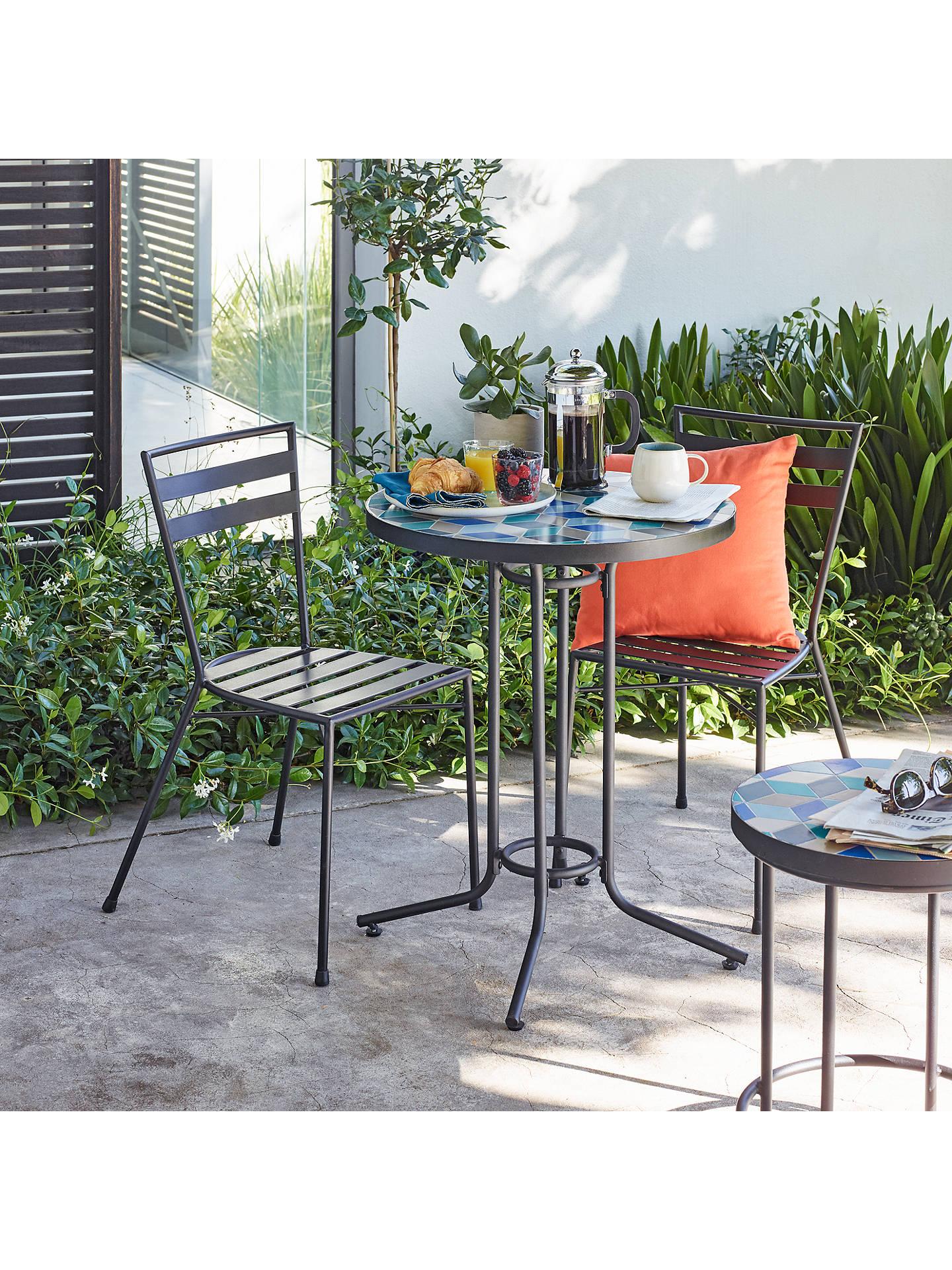 John Lewis & Partners Suri 2 Seater Mosaic Bistro Garden ...