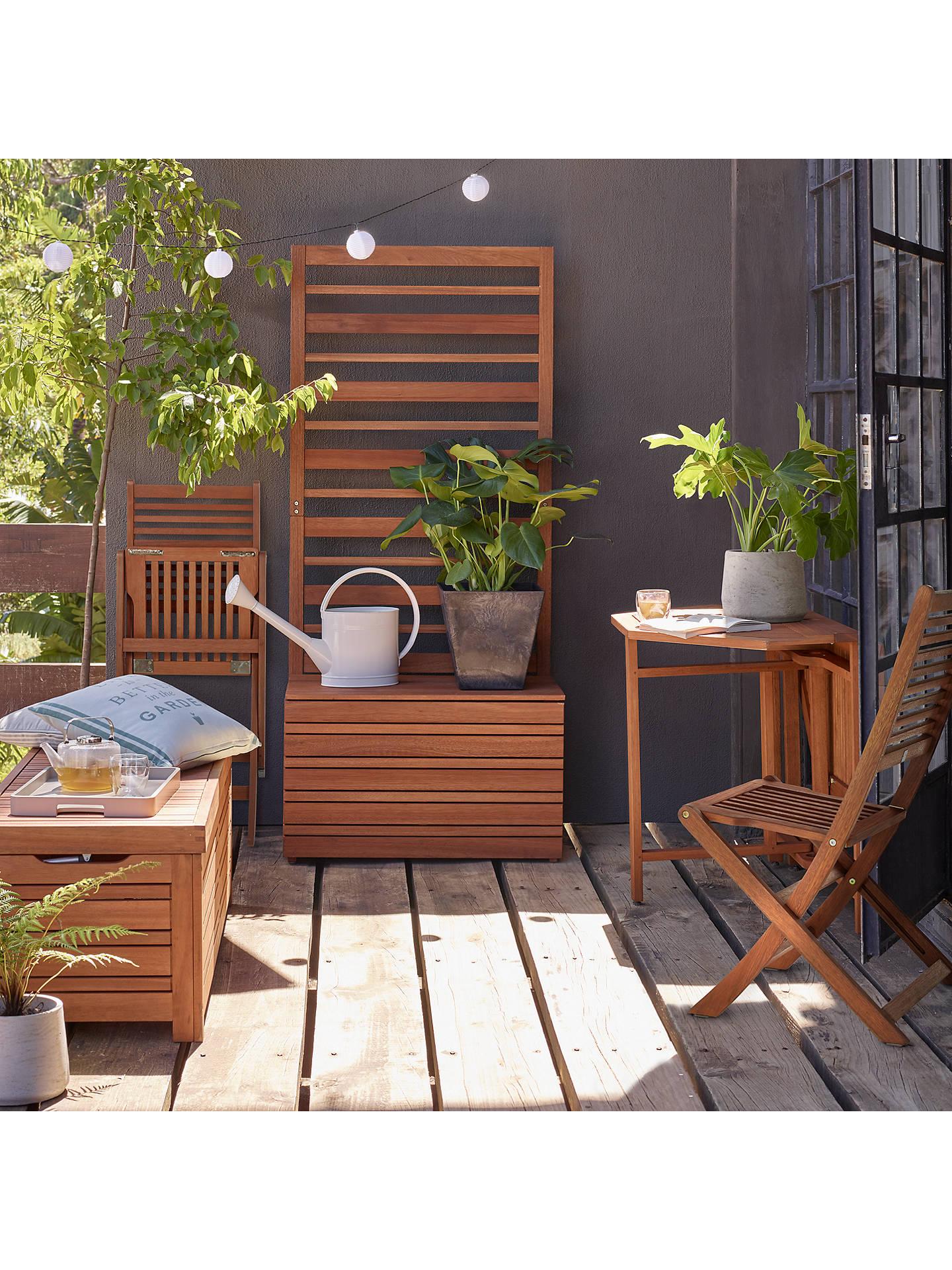 Outstanding John Lewis Partners Venice Storage Box And Bench Fsc Certified Eucalyptus Wood Natural Inzonedesignstudio Interior Chair Design Inzonedesignstudiocom