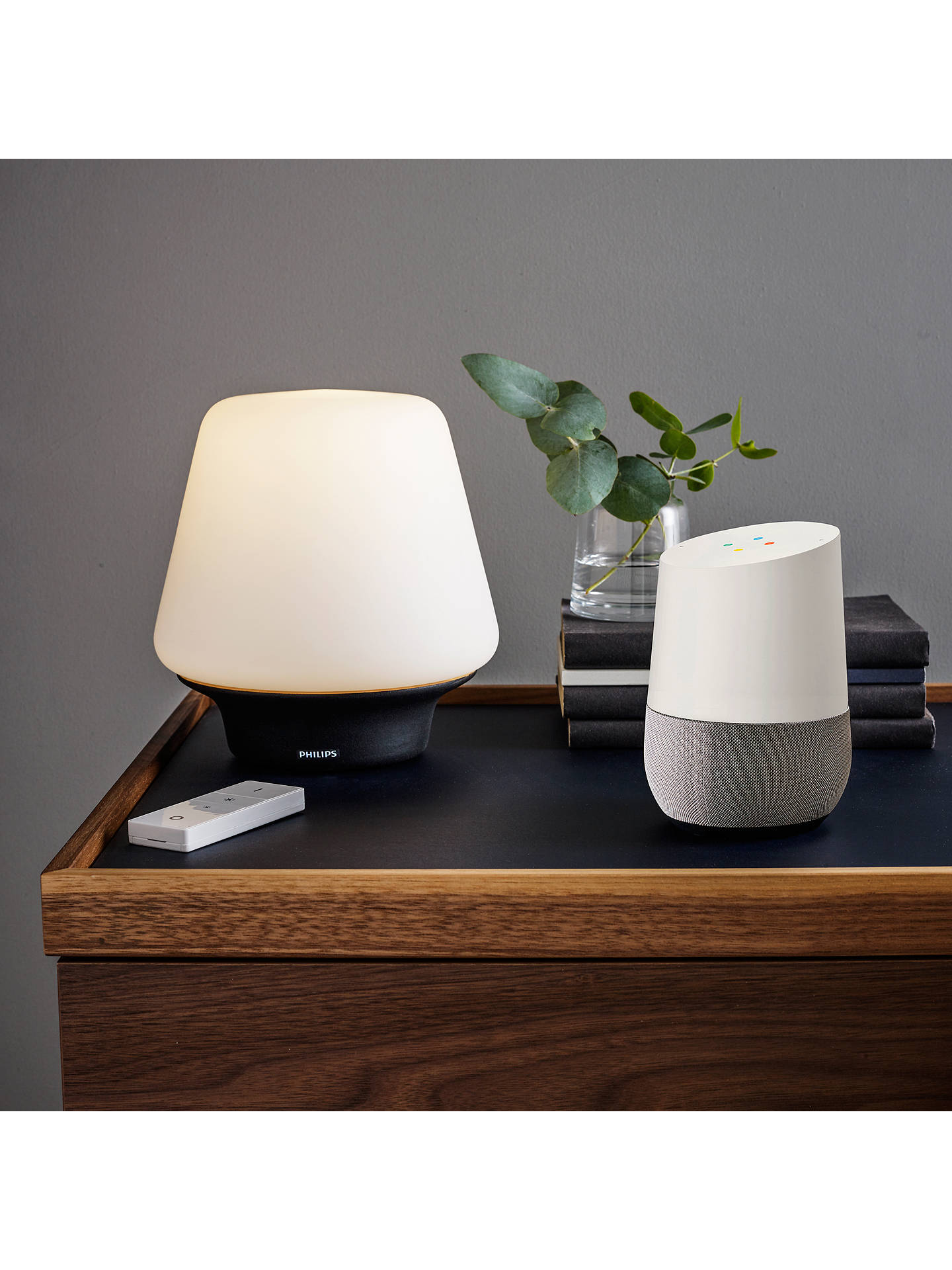 Philips Hue Ambient Wellness Table Lamp White Black