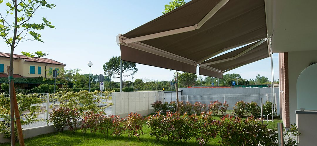 Awnings available from John Lewis