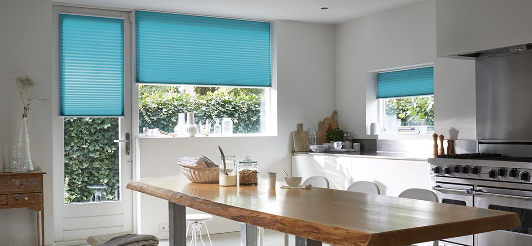 Pleated blind solutions from John Lewis