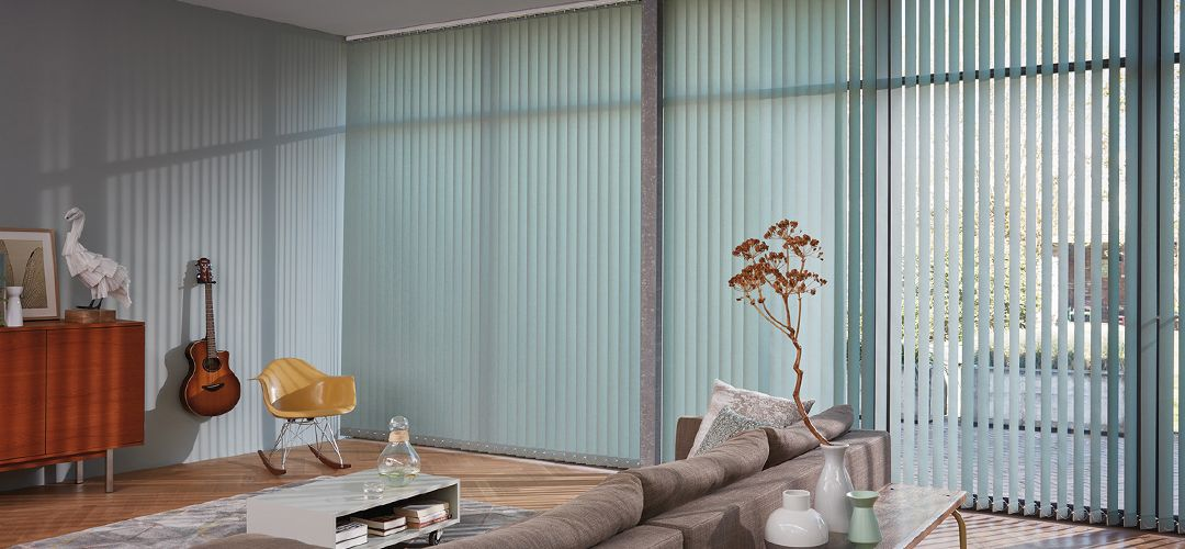 Vertical blind solutions available from John Lewis