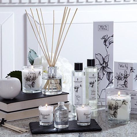Buy Stoneglow White Orchid Diffuser Refill, Fig, 200ml Online at johnlewis.com