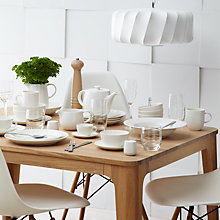 Buy Croft Collection Luna Tableware Online at johnlewis.com