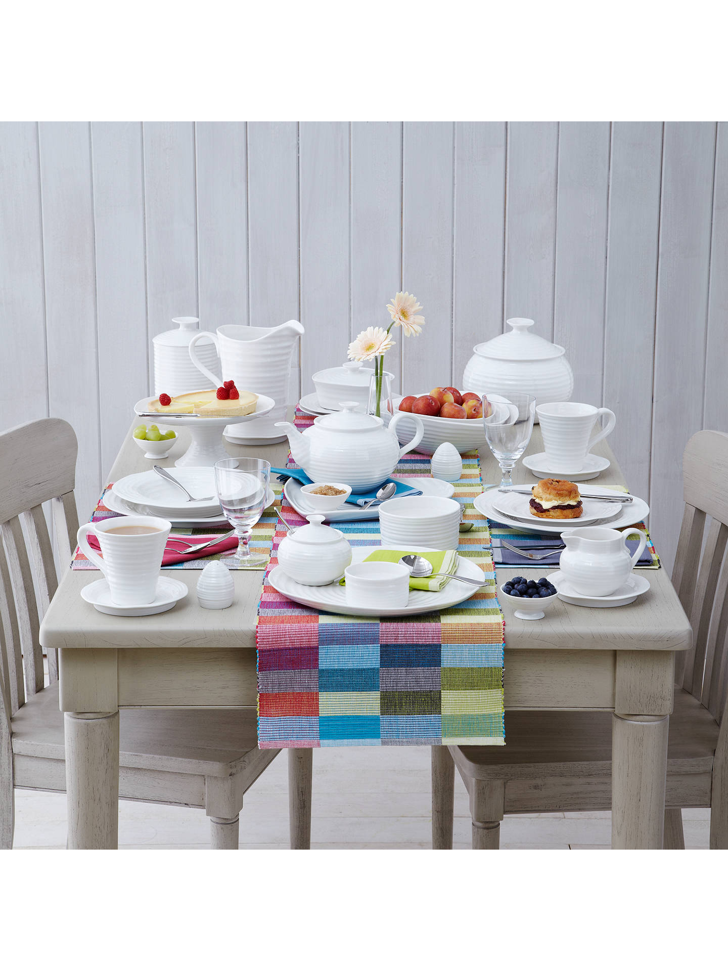 Buy Sophie Conran for Portmeirion Cereal Bowl, 19cm, White Online at johnlewis.com