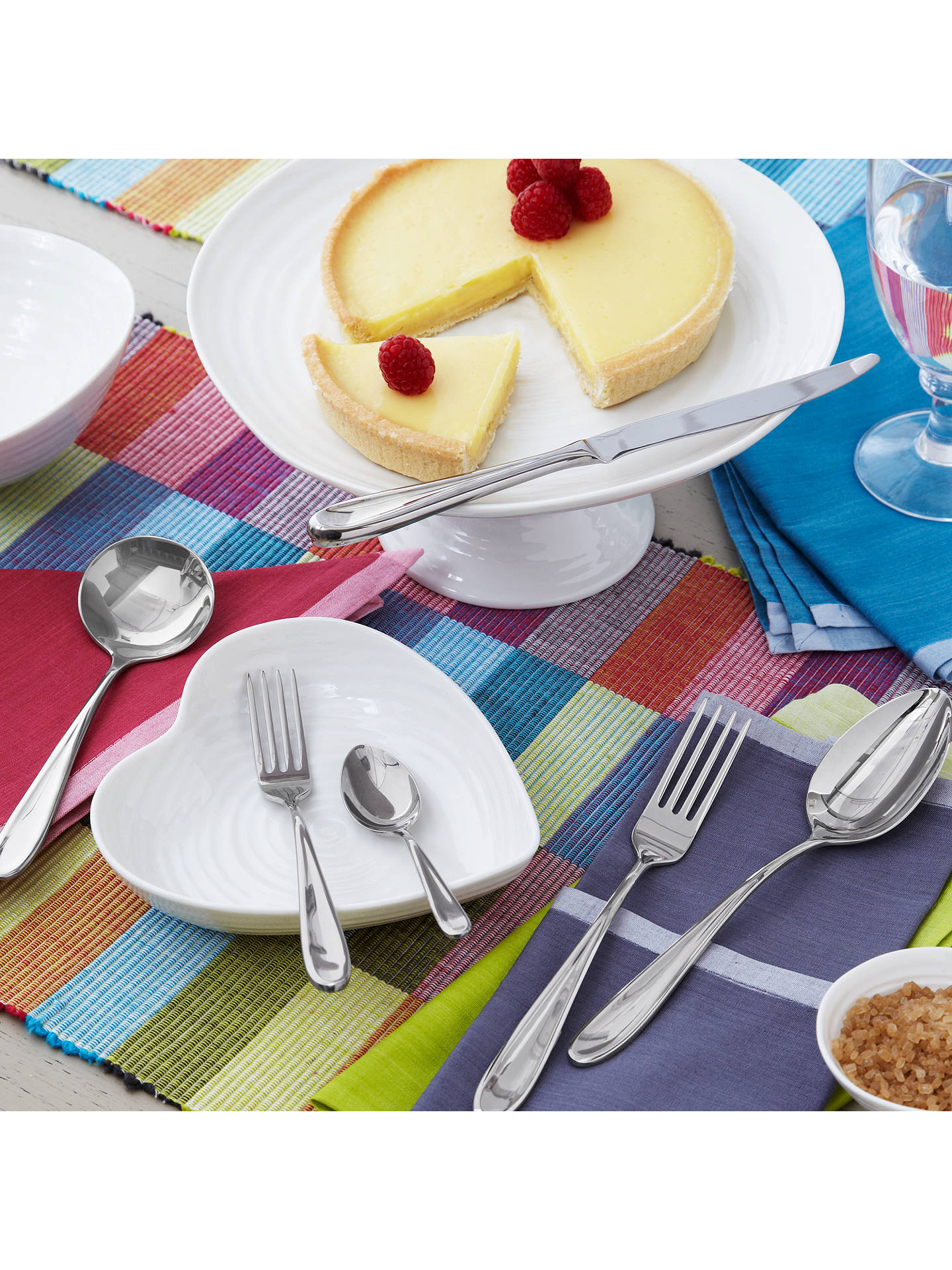 Buy Sophie Conran for Arthur Price Rivelin Pastry Forks, Set of 6 Online at johnlewis.com