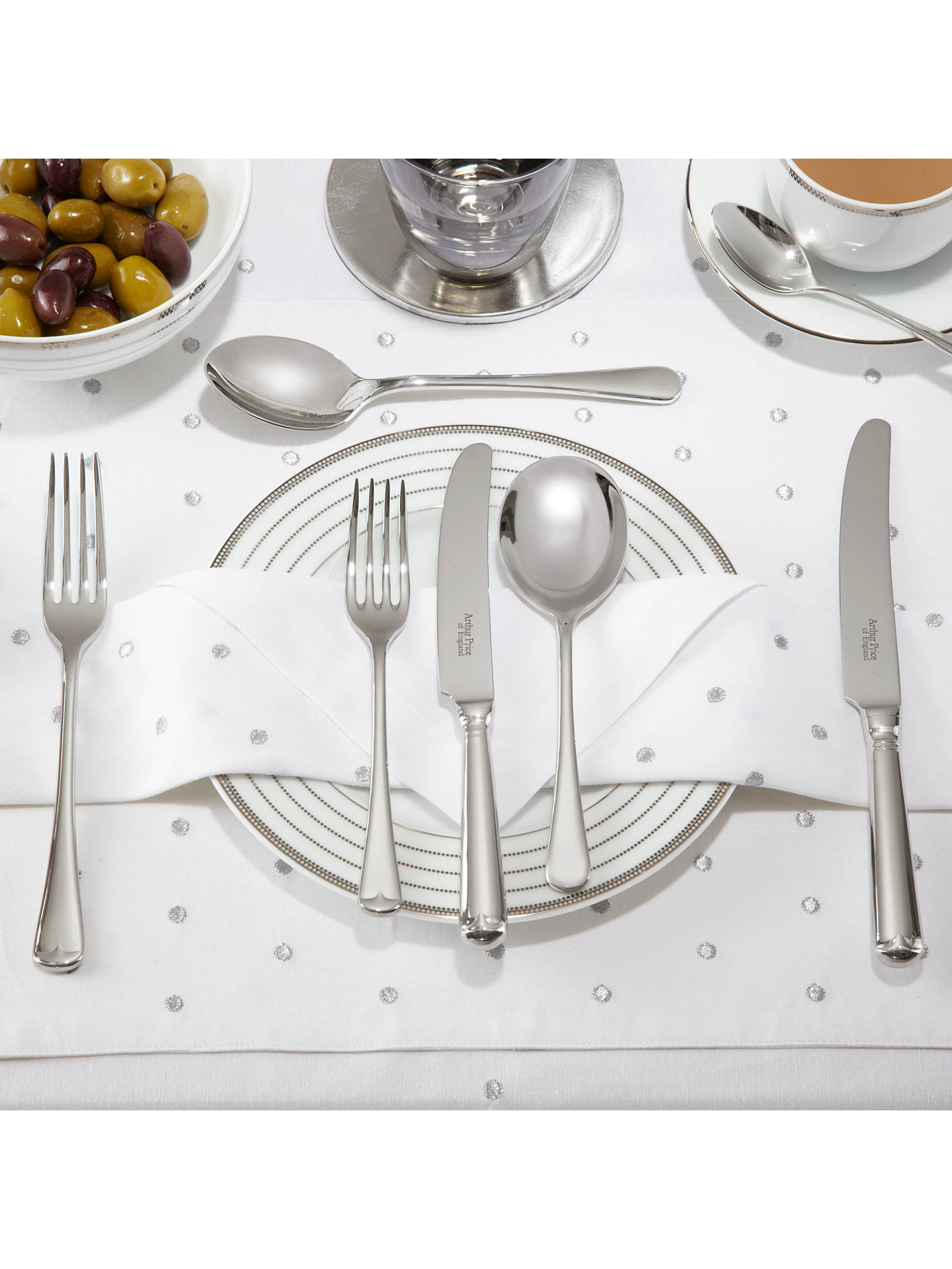 BuyArthur Price Old English Dessert Fork Online at johnlewis.com