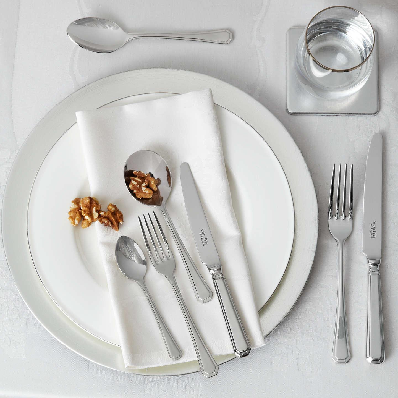 Arthur Price Grecian Cutlery Set, 44 Piece at John Lewis