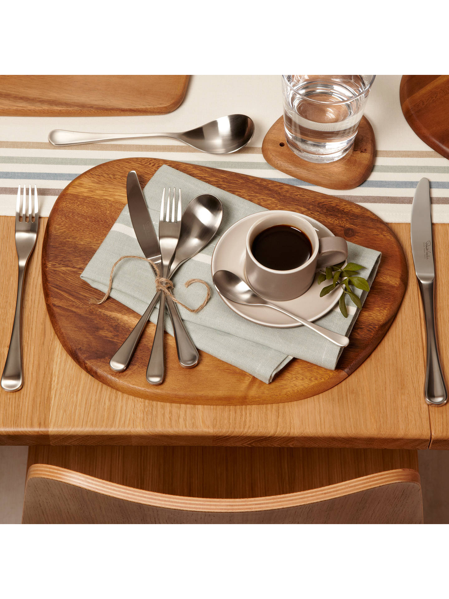 Buy Robert Welch RW2 Satin Cutlery Set, 7 Piece/1 Place Setting Online at johnlewis.com