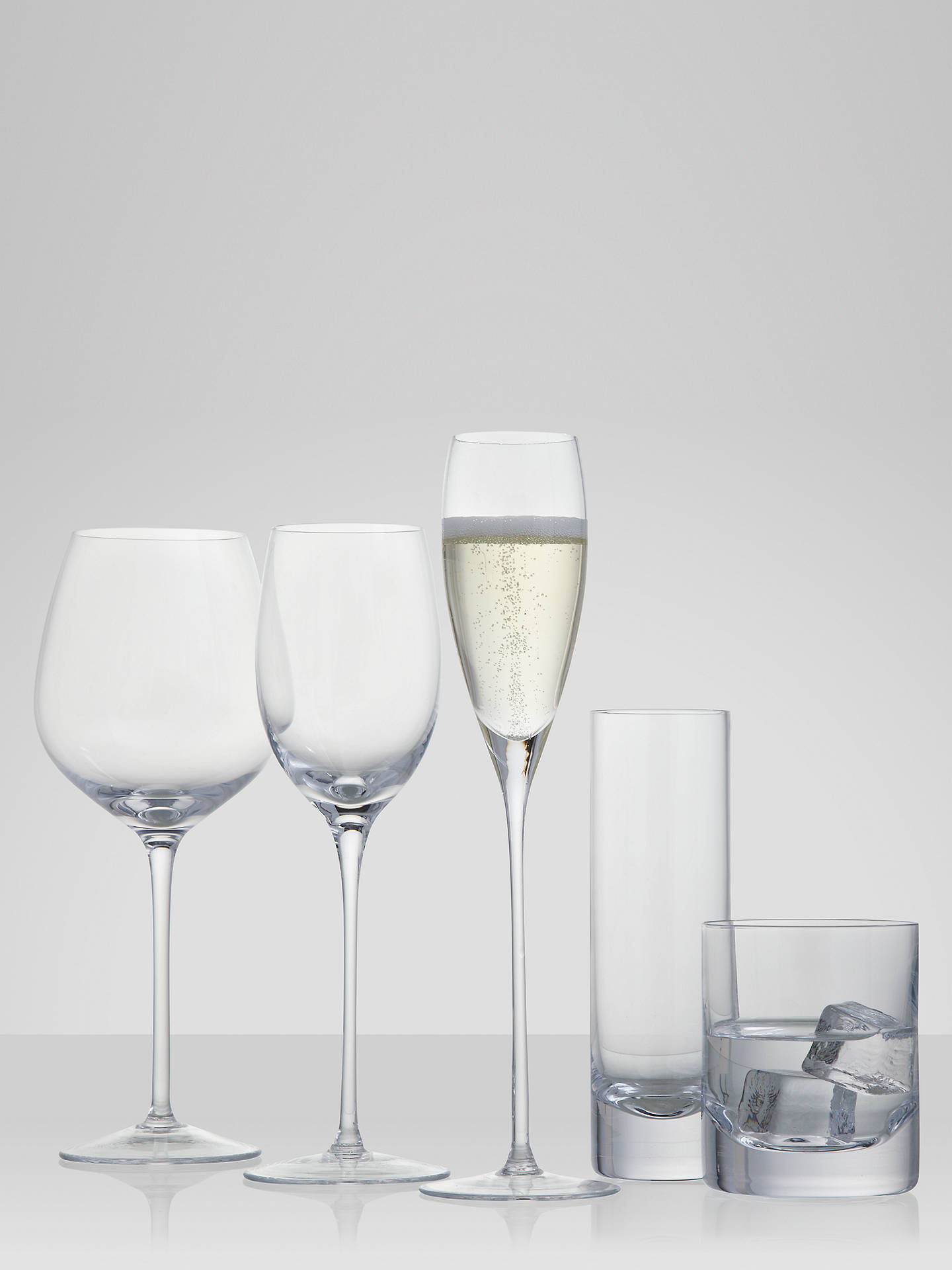 Buy LSA International Bar Collection Champagne Flutes, Set of 4, 200ml Online at johnlewis.com