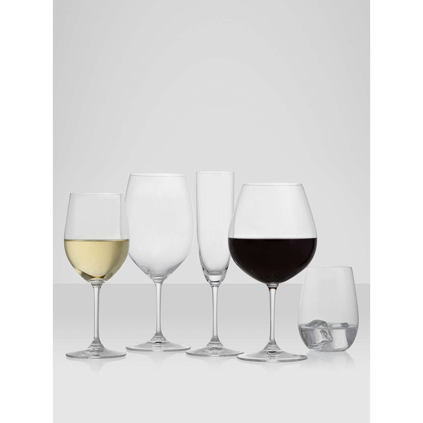 BuyRiedel 'O' Riesling/ Sauvignon Stemless Glass, Set of 2 Online at johnlewis.com