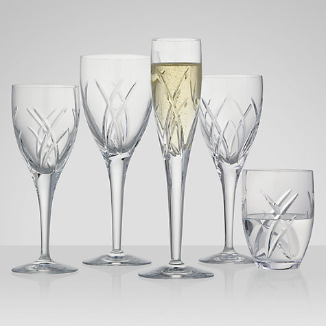 Buy John Rocha for Waterford Crystal Signature Glassware Cut Lead Crystal Champagne Flute, Set of 2 Online at johnlewis.com