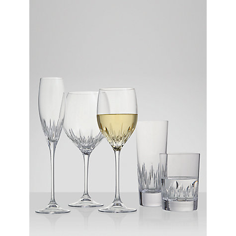 Buy Vera Wang for Wedgwood Cut Lead Crystal Duchesse Wine Glasses, Set of 2 Online at johnlewis.com