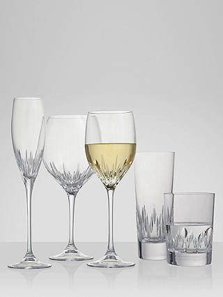 Buy Vera Wang for Wedgwood Cut Lead Crystal Duchesse Flute, Set of 2, 100ml Online at johnlewis.com