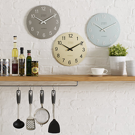 kitchen wall clocks buy kent cotswold clock dia 30cm lewis 30188
