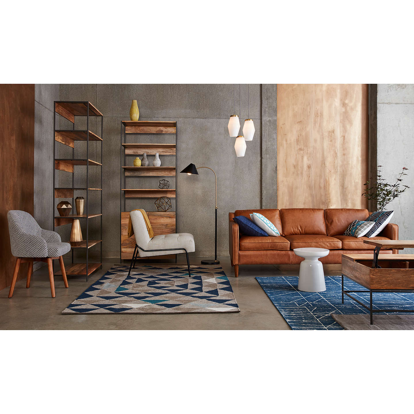 West elm hamilton 3 seater sofa sienna at john lewis for Best west elm sofa